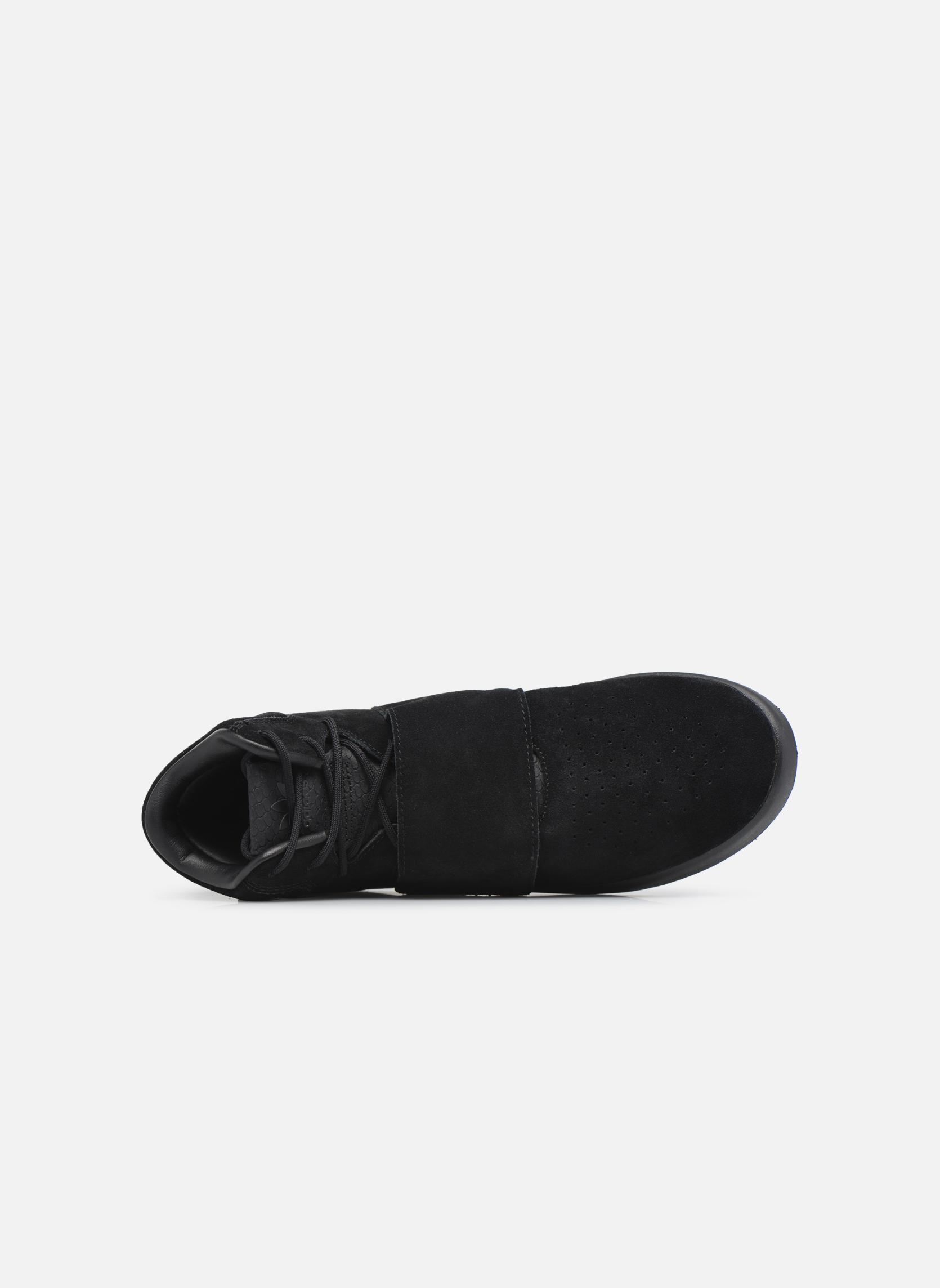 Baskets Adidas Originals Tubular Invader Strap Noir vue gauche