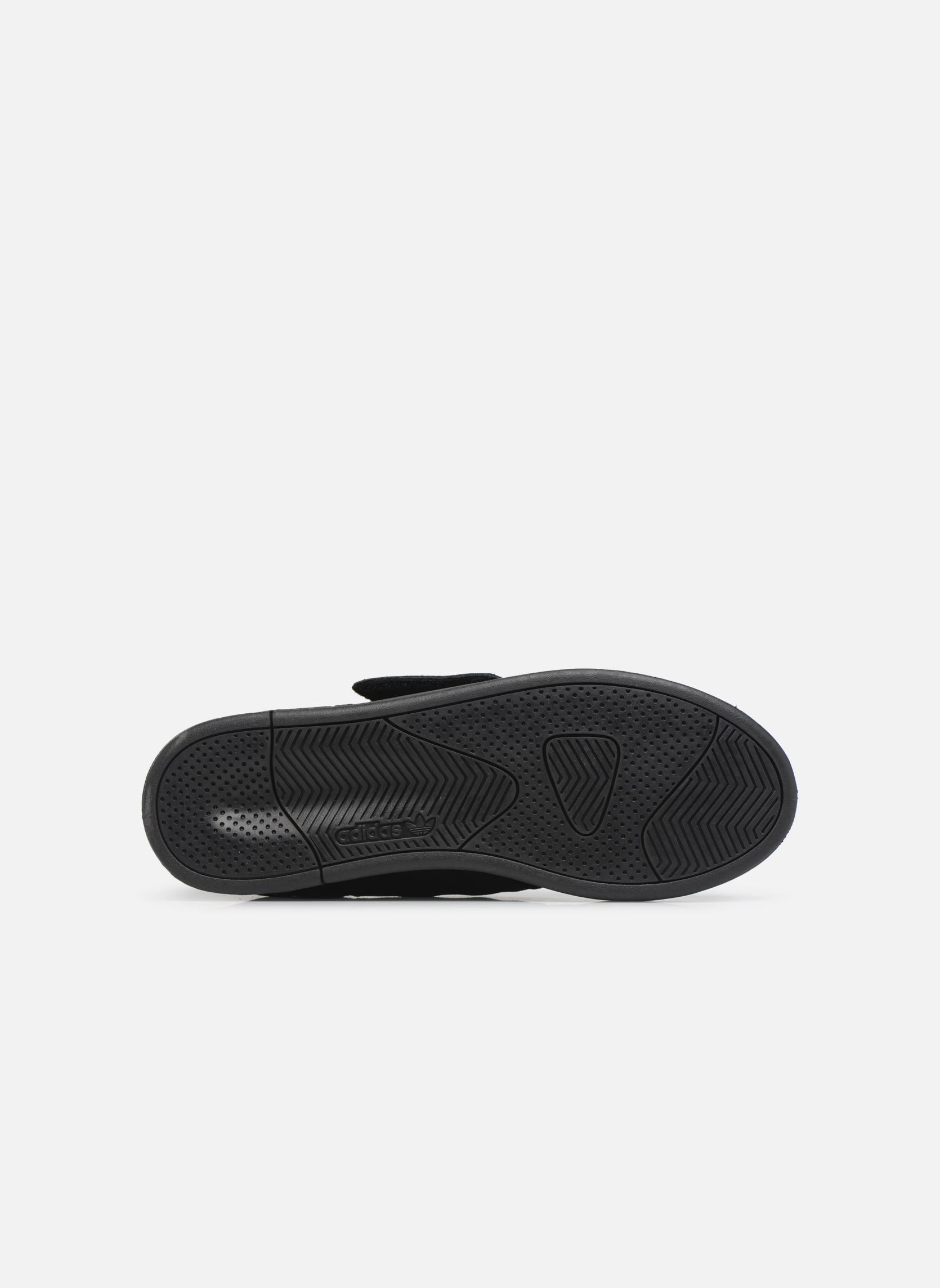 Baskets Adidas Originals Tubular Invader Strap Noir vue haut