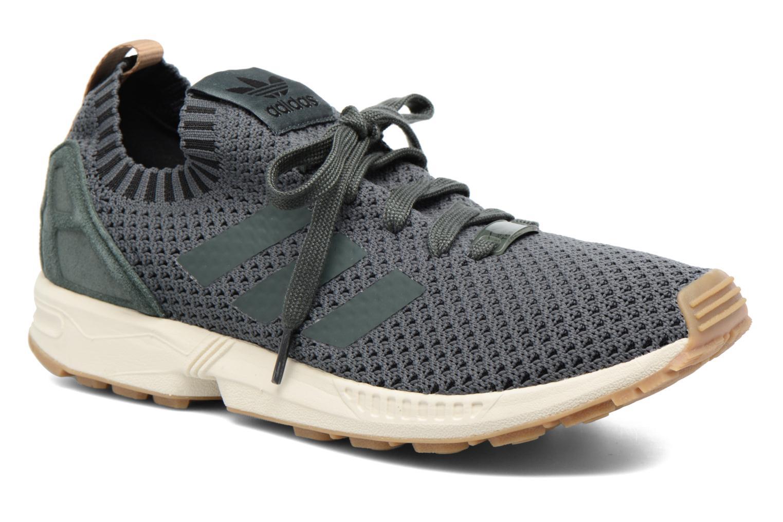 Baskets Adidas Originals Zx Flux Pk Vert vue détail/paire