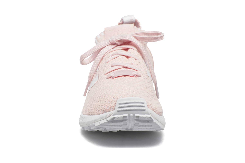 Baskets Adidas Originals Zx Flux Pk W Rose vue portées chaussures