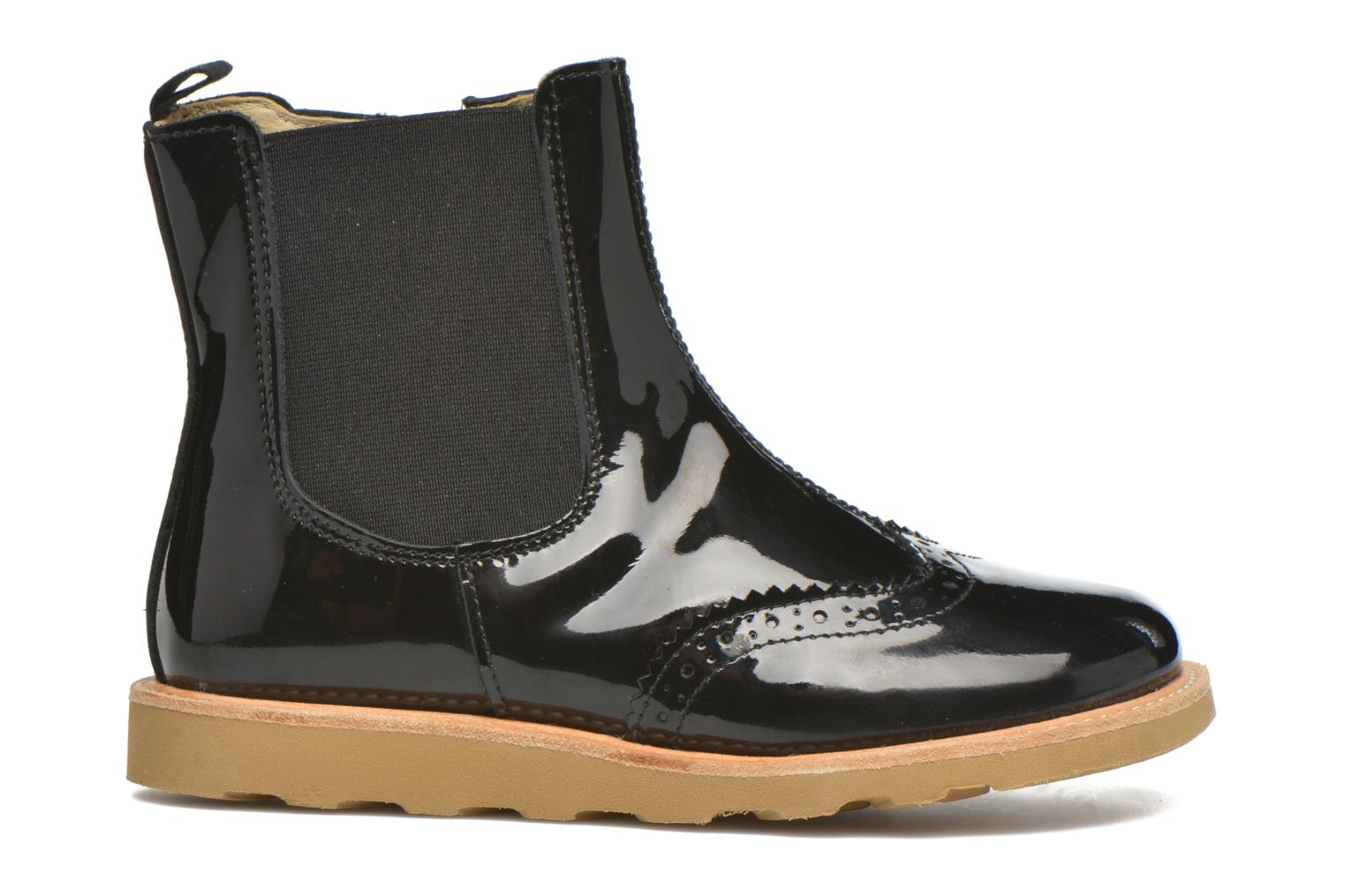 Soles Francis leather Young patent Black TZ7nWWqHd