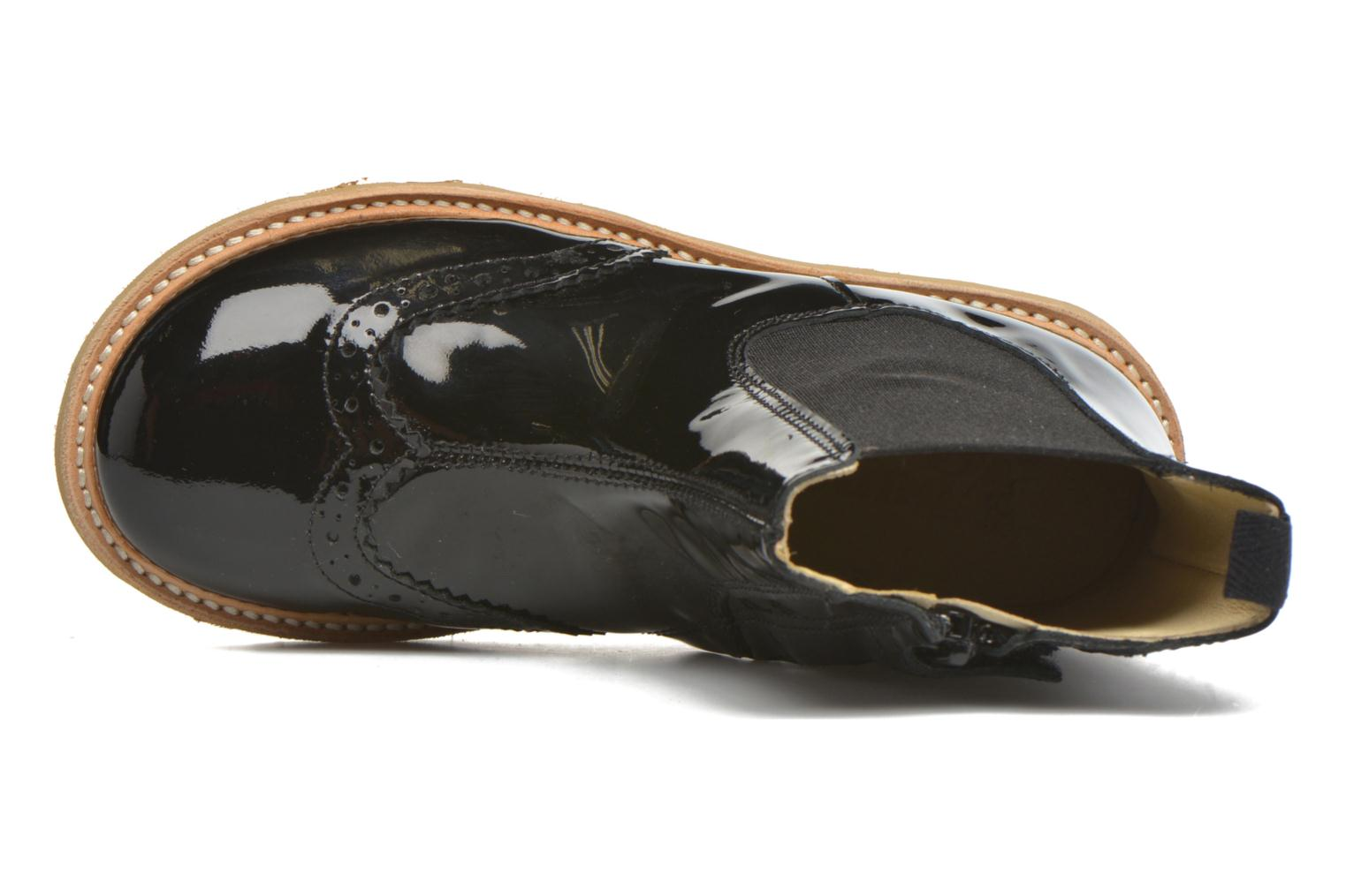 Francis Black patent leather