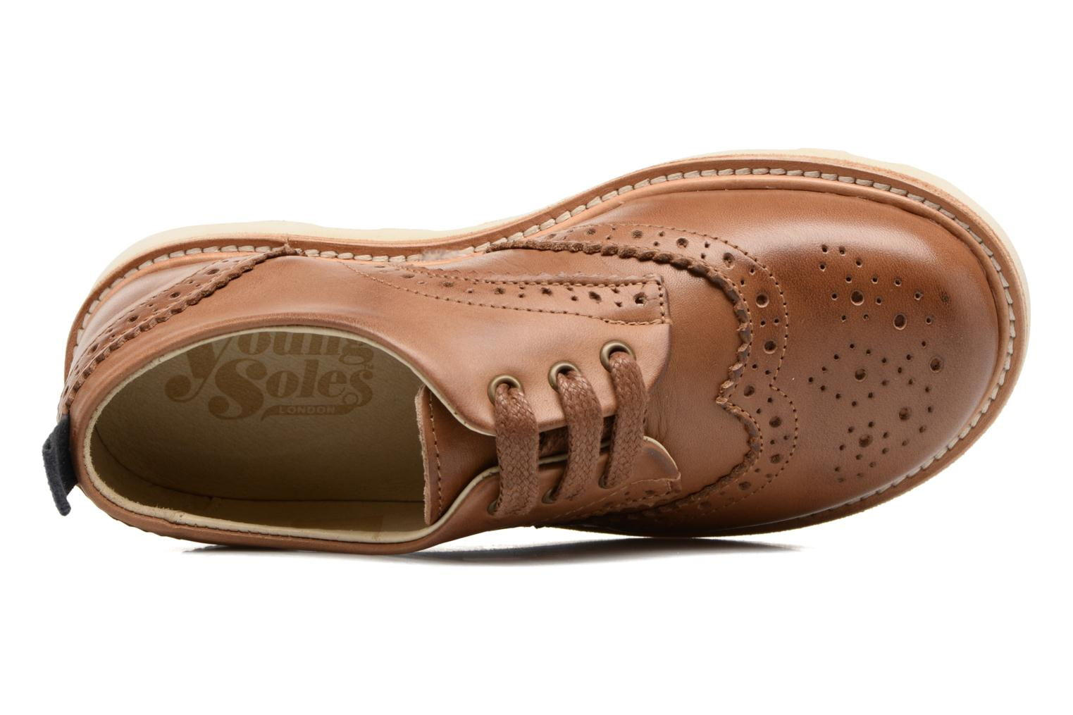 Brando TAN BURNISHED LEATHER