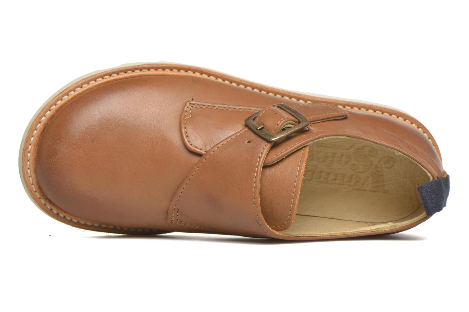 Charlie TAN BURNISHED LEATHER