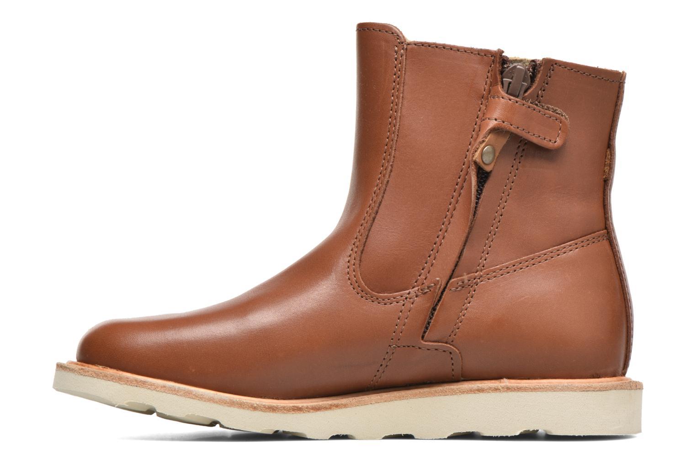 Bottines et boots Young Soles Vera Marron vue face