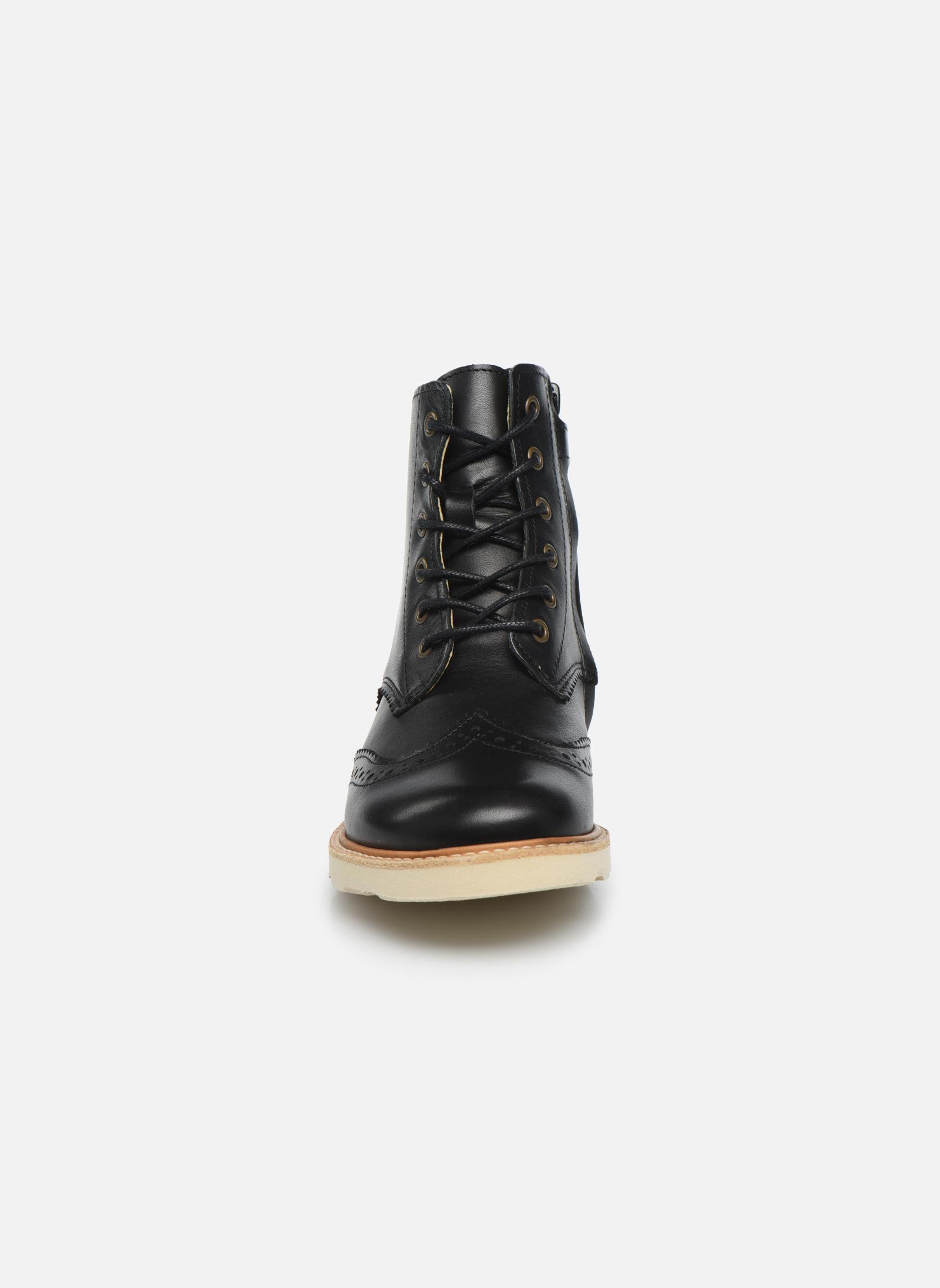 Bottines et boots Young Soles Sidney Noir vue portées chaussures