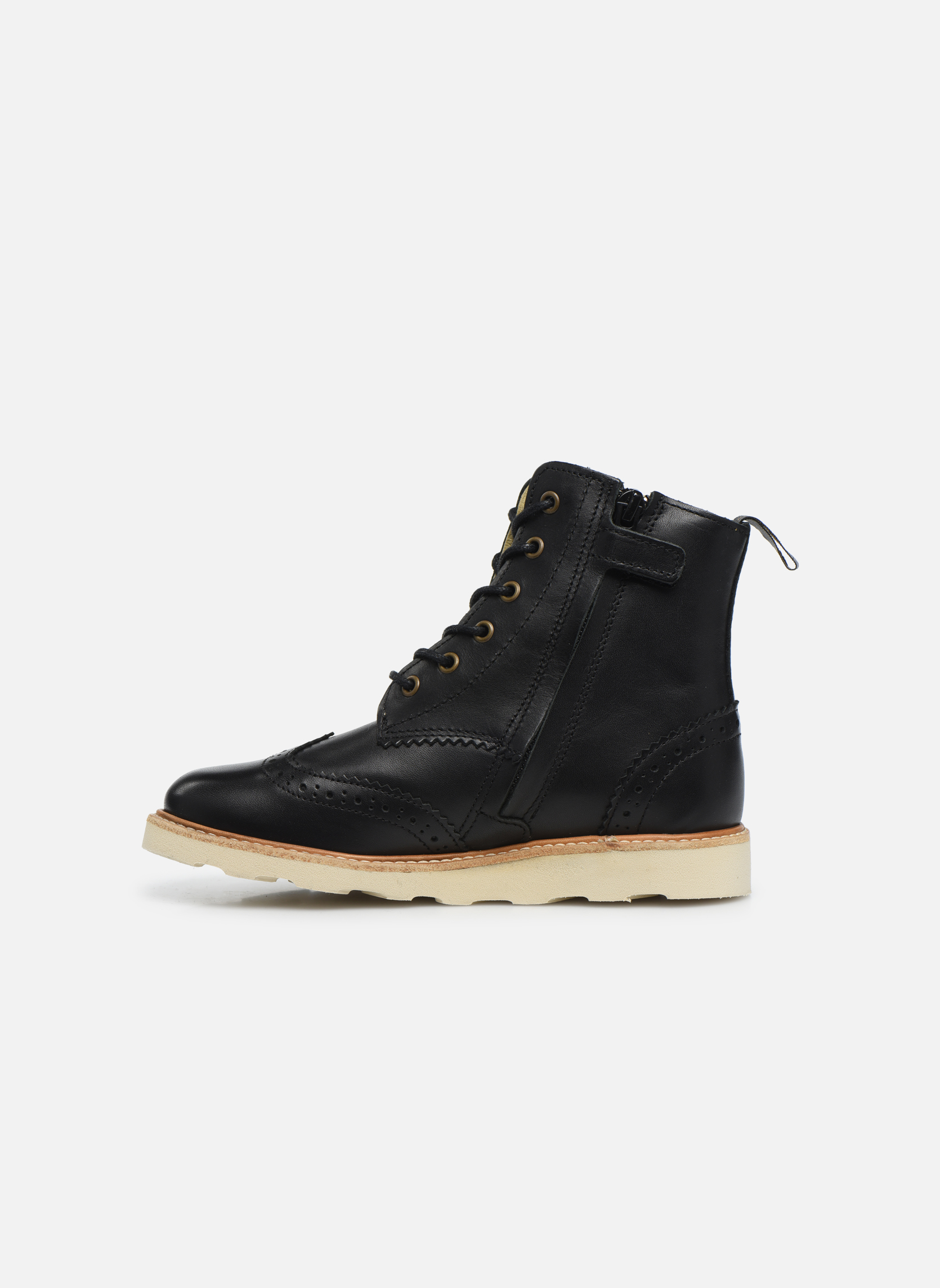 Bottines et boots Young Soles Sidney Noir vue face