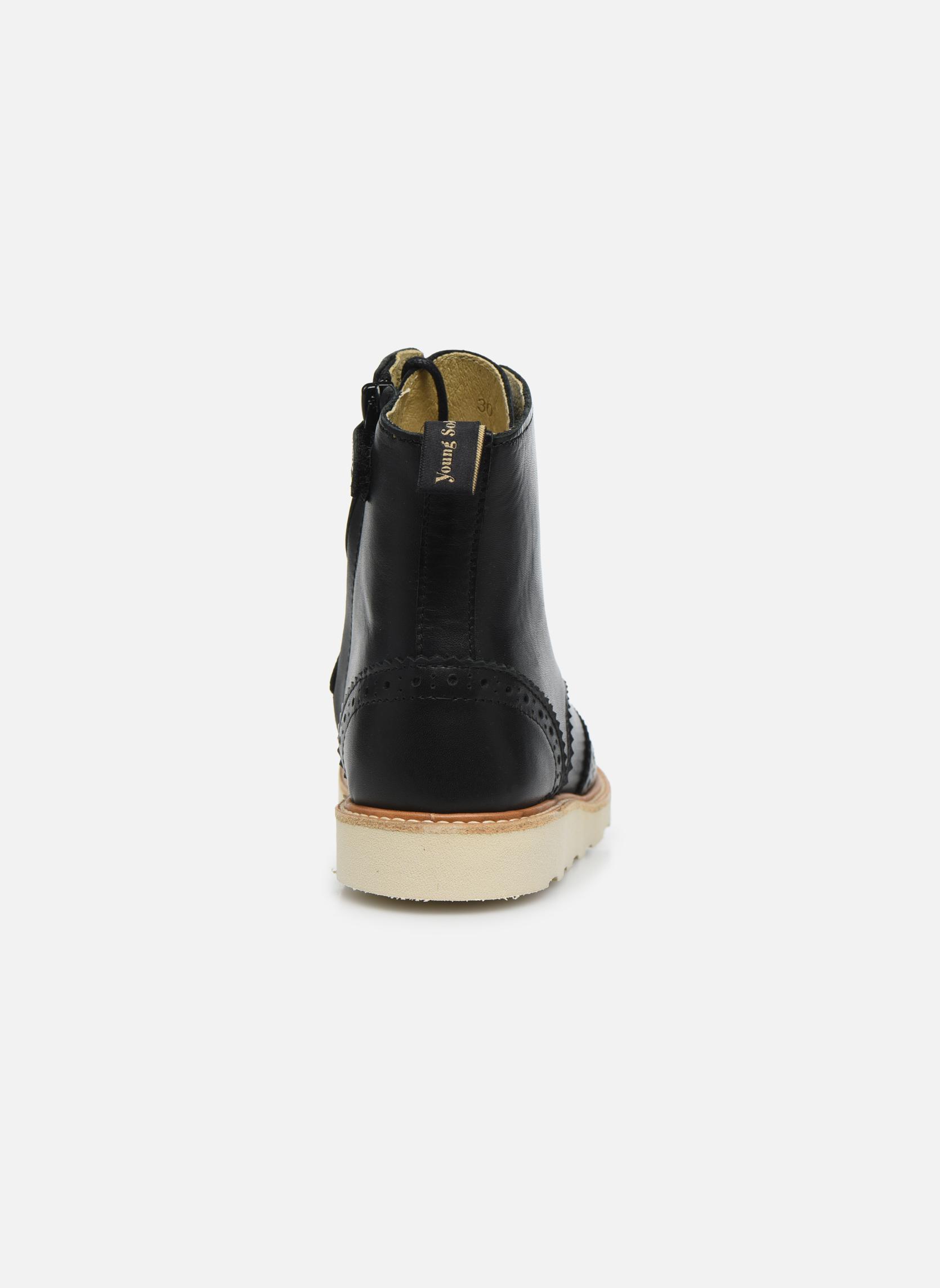 Bottines et boots Young Soles Sidney Noir vue droite