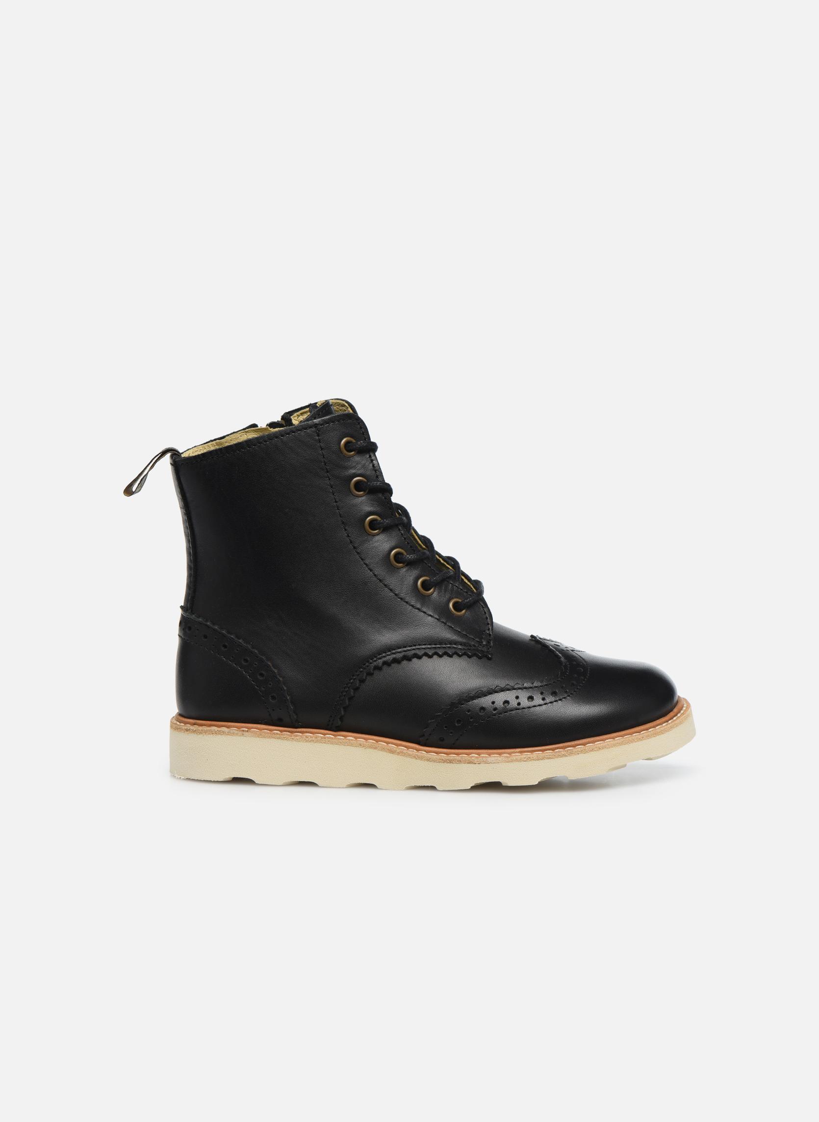 Bottines et boots Young Soles Sidney Noir vue derrière