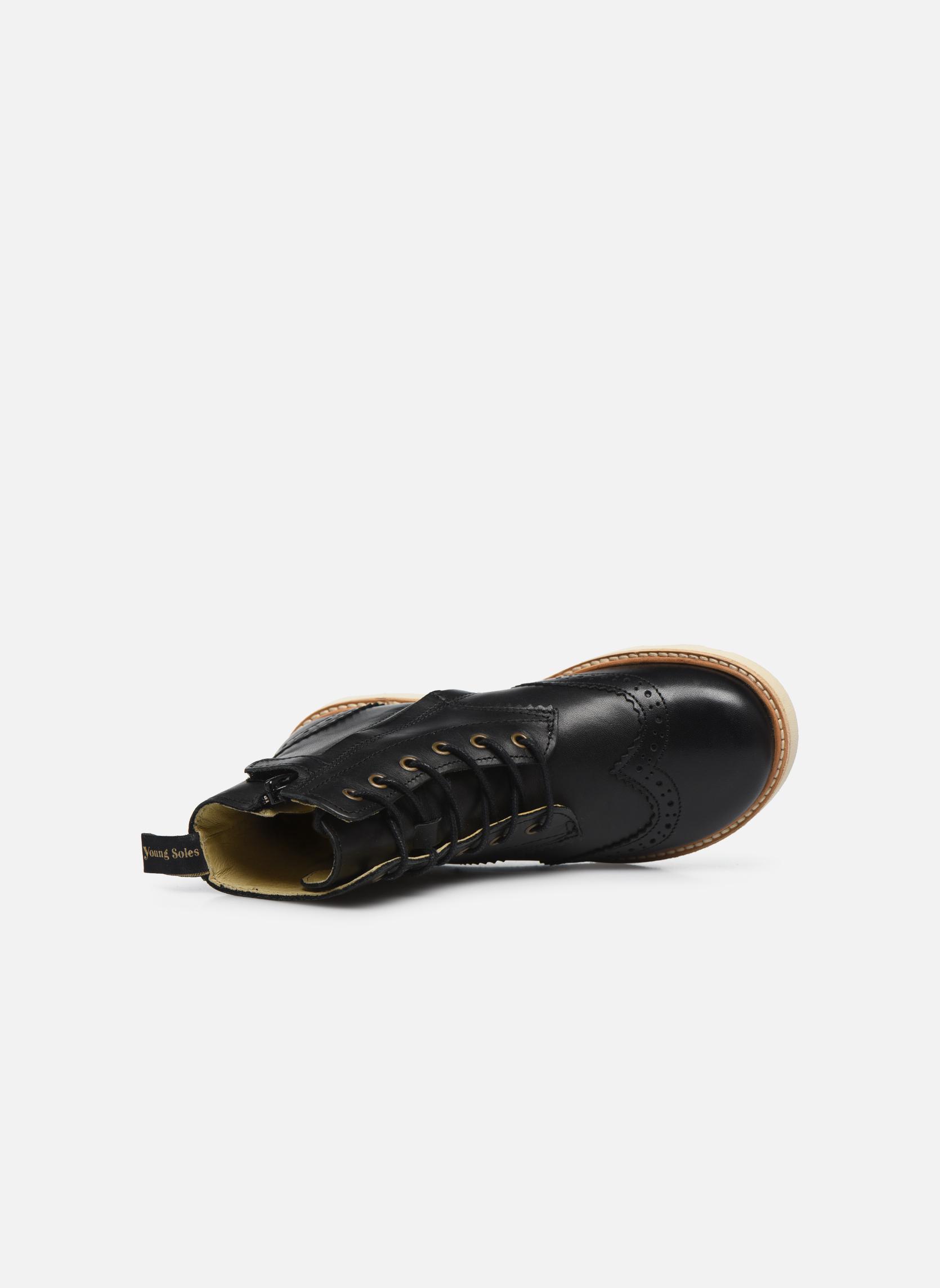 Bottines et boots Young Soles Sidney Noir vue gauche