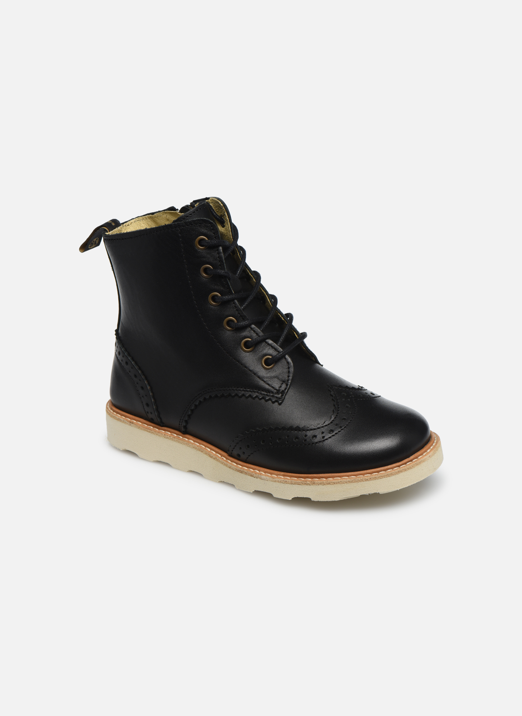 Bottines et boots Young Soles Sidney Noir vue détail/paire