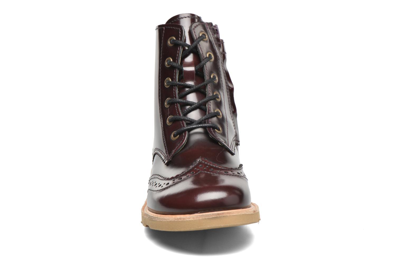 Bottines et boots Young Soles Sidney Bordeaux vue portées chaussures