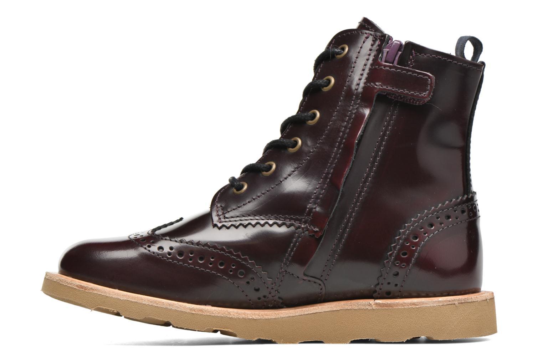 Bottines et boots Young Soles Sidney Bordeaux vue face