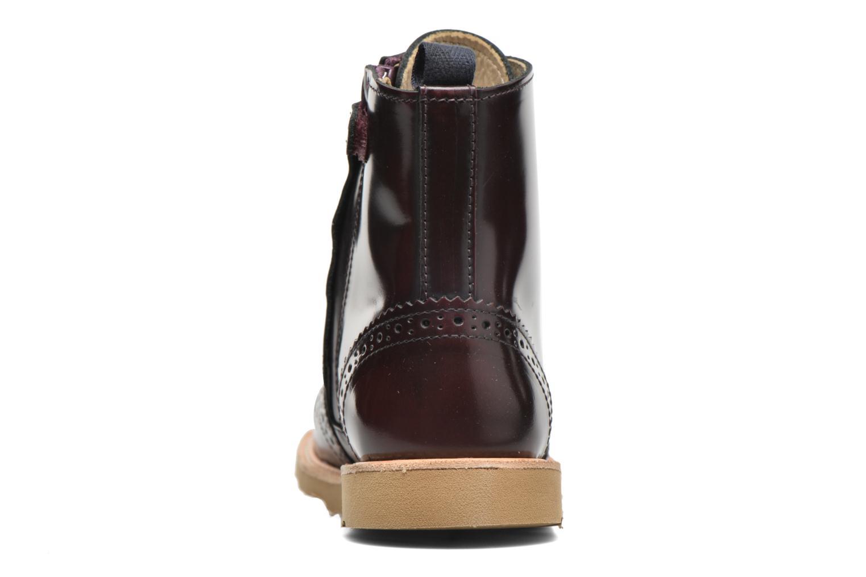 Bottines et boots Young Soles Sidney Bordeaux vue droite