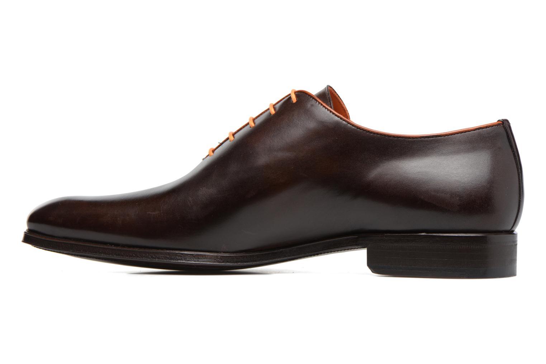 Chaussures à lacets Marvin&Co Luxe Perrowne - Cousu Blake Marron vue face