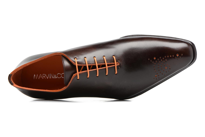 Chaussures à lacets Marvin&Co Luxe Perrowne - Cousu Blake Marron vue gauche