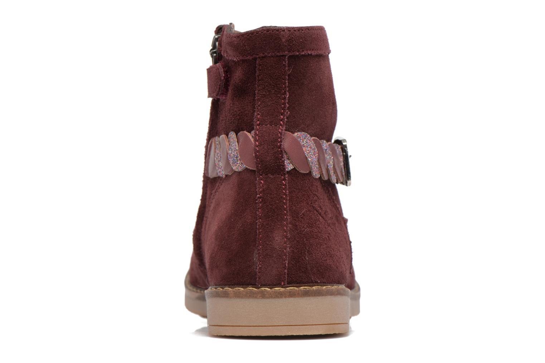 Bottines et boots Pom d Api Trip Twist Bordeaux vue droite