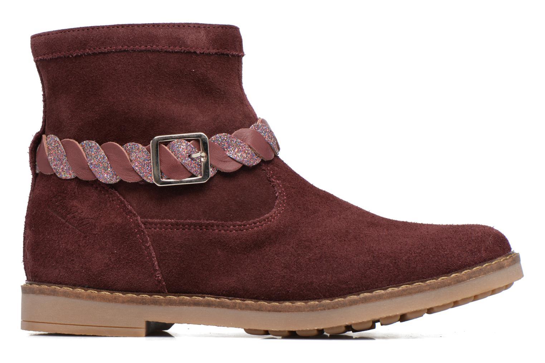 Bottines et boots Pom d Api Trip Twist Bordeaux vue derrière