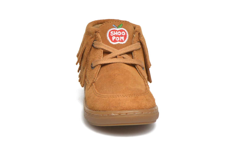 Chaussures à lacets Shoo Pom Bouba Yaka Marron vue portées chaussures