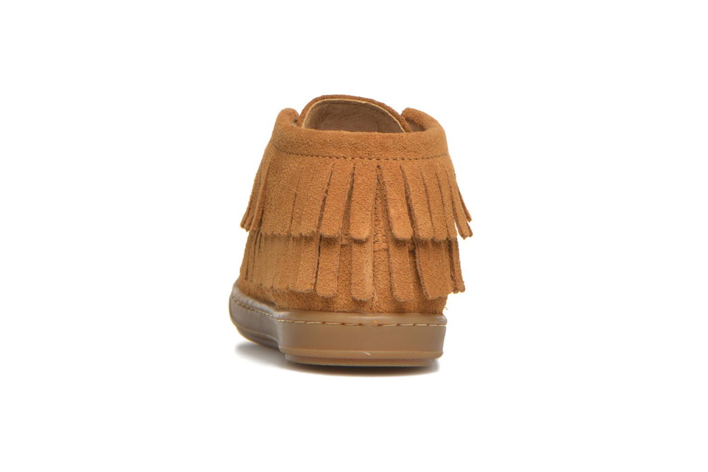 Chaussures à lacets Shoo Pom Bouba Yaka Marron vue droite