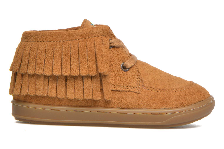 Chaussures à lacets Shoo Pom Bouba Yaka Marron vue derrière