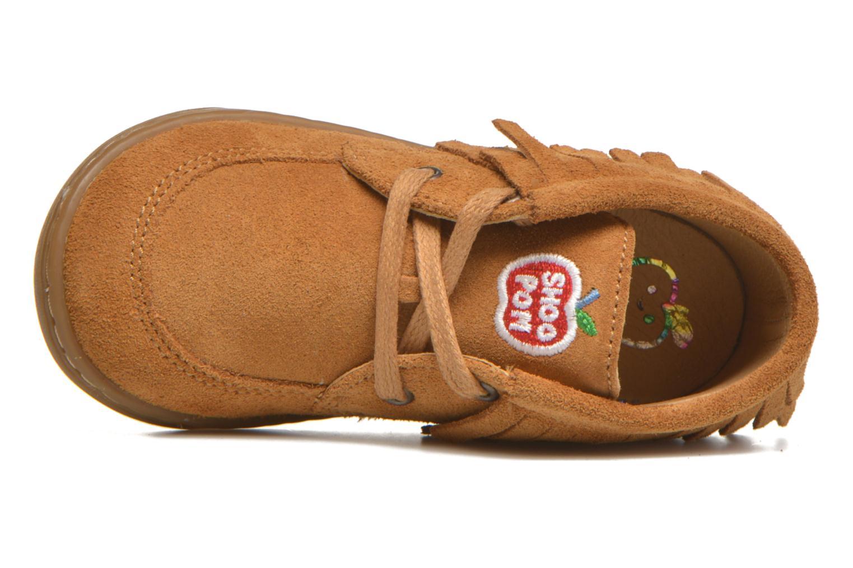 Chaussures à lacets Shoo Pom Bouba Yaka Marron vue gauche