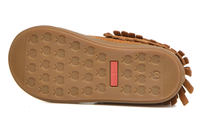 Chaussures à lacets Shoo Pom Bouba Yaka Marron vue haut