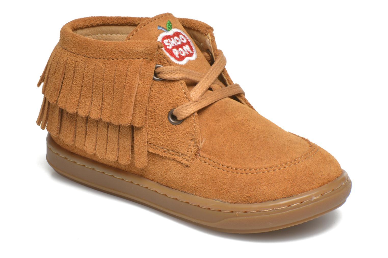 Chaussures à lacets Shoo Pom Bouba Yaka Marron vue détail/paire