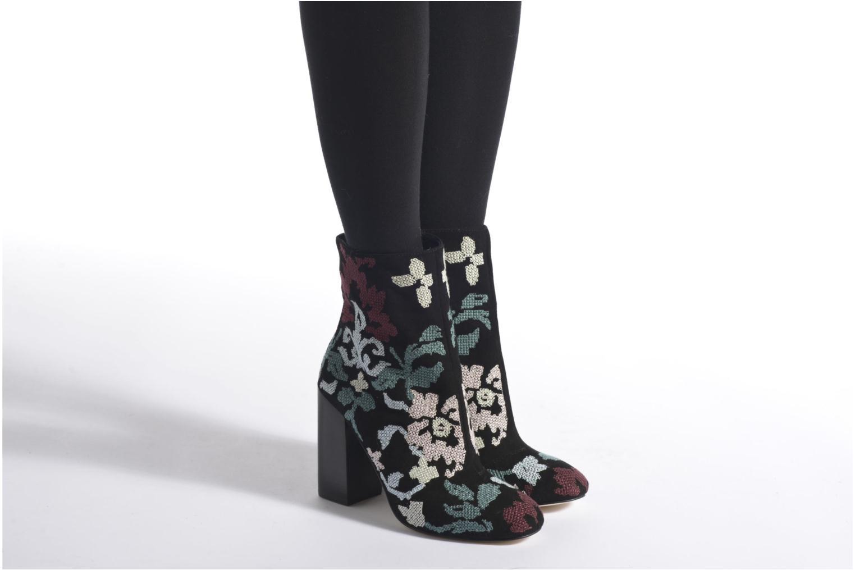 Bottines et boots Rebecca Minkoff BOJANA Noir vue bas / vue portée sac