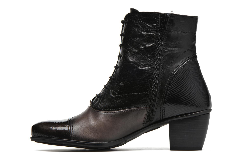 Bottines et boots Dorking Brisda 6885 Gris vue face