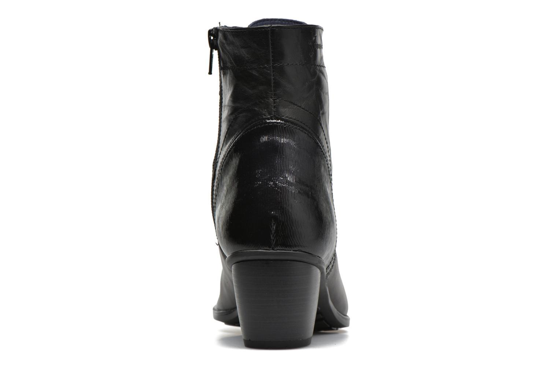 Bottines et boots Dorking Brisda 6885 Gris vue droite