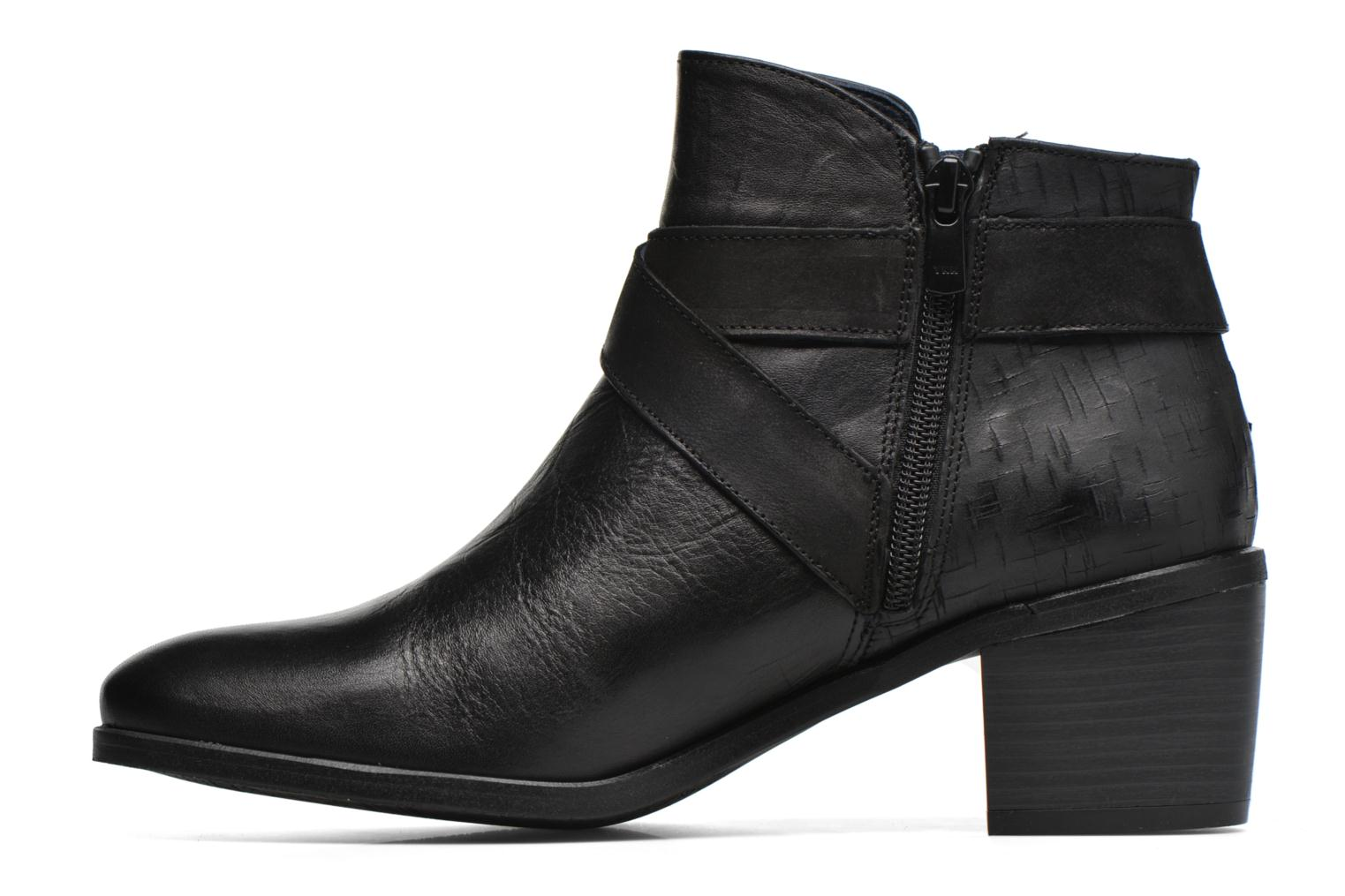 Bottines et boots Dorking Cora 6940 Noir vue face