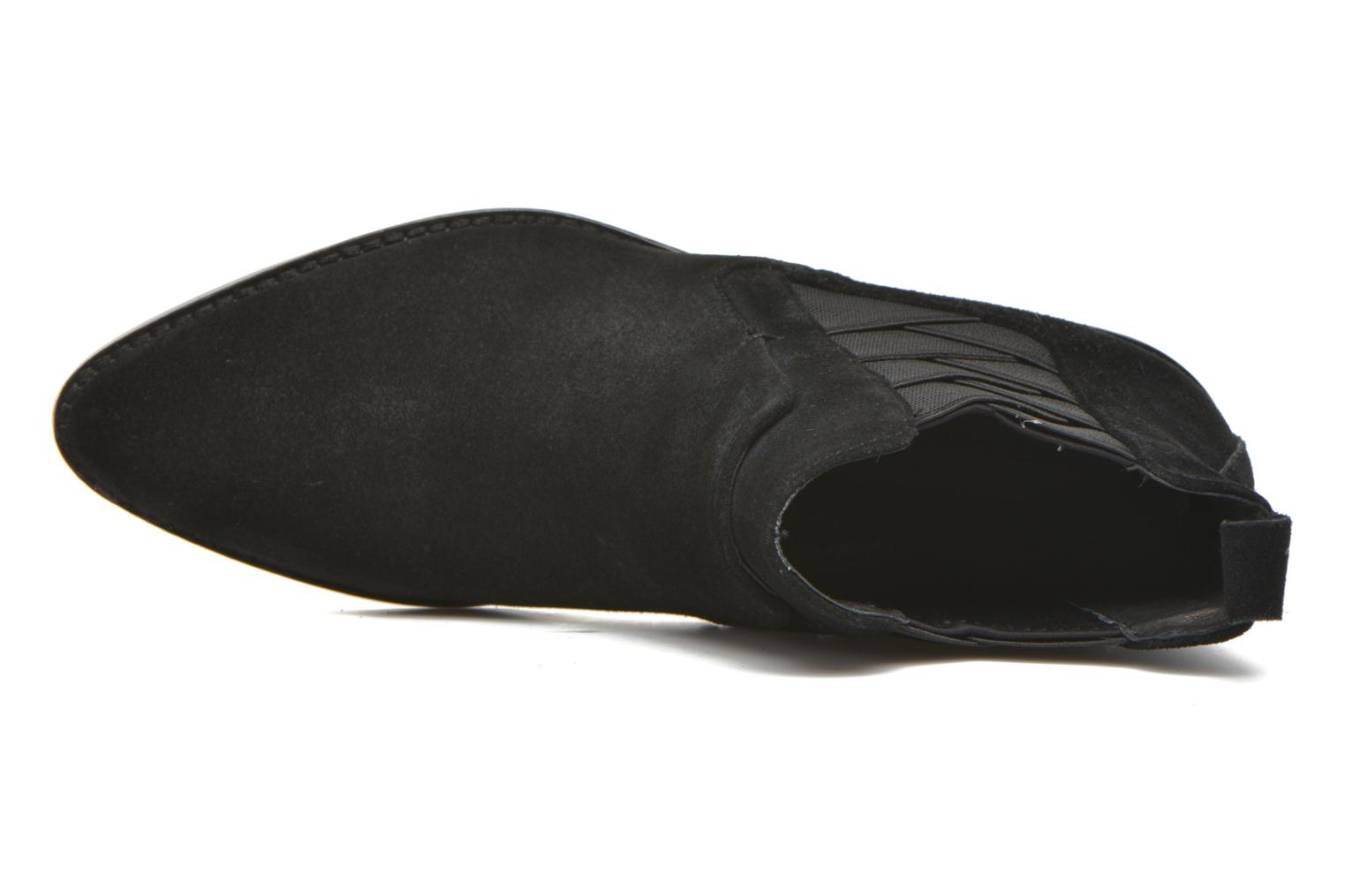 JACY black oiled suede