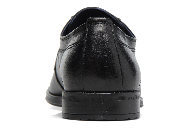 Chaussures à lacets Fluchos Nugget 9488 Noir vue droite