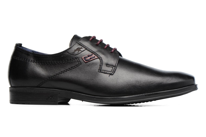 Chaussures à lacets Fluchos Nugget 9488 Noir vue derrière