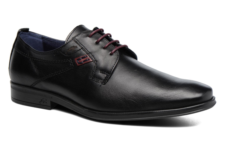Chaussures à lacets Fluchos Nugget 9488 Noir vue détail/paire