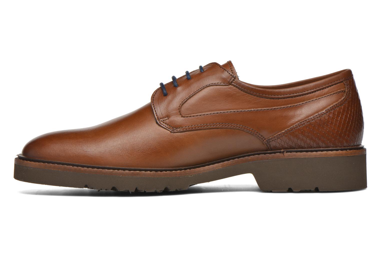 Chaussures à lacets Fluchos Cavalier 9518 Marron vue face