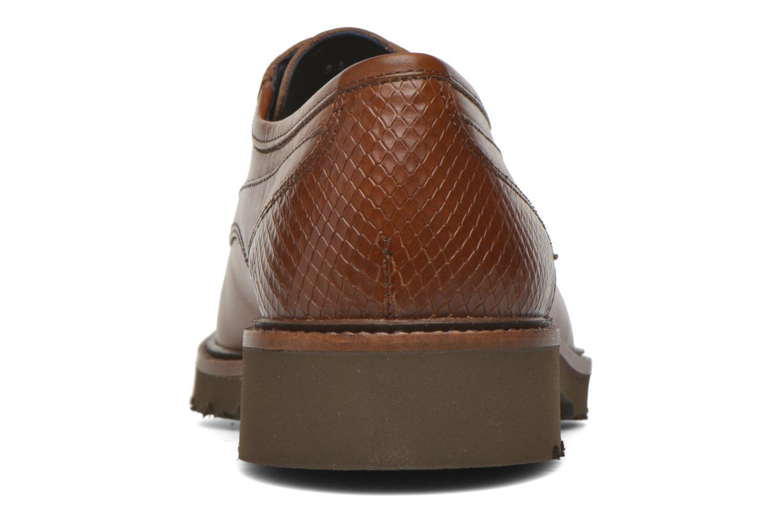 Chaussures à lacets Fluchos Cavalier 9518 Marron vue droite
