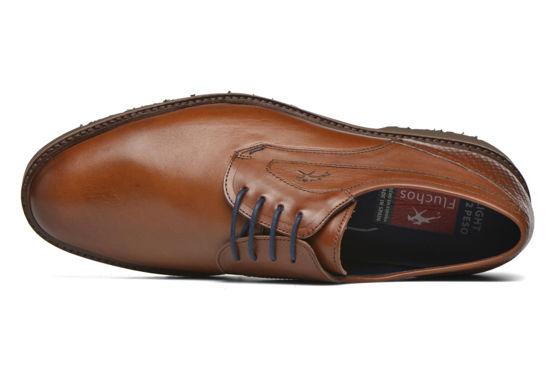 Chaussures à lacets Fluchos Cavalier 9518 Marron vue gauche