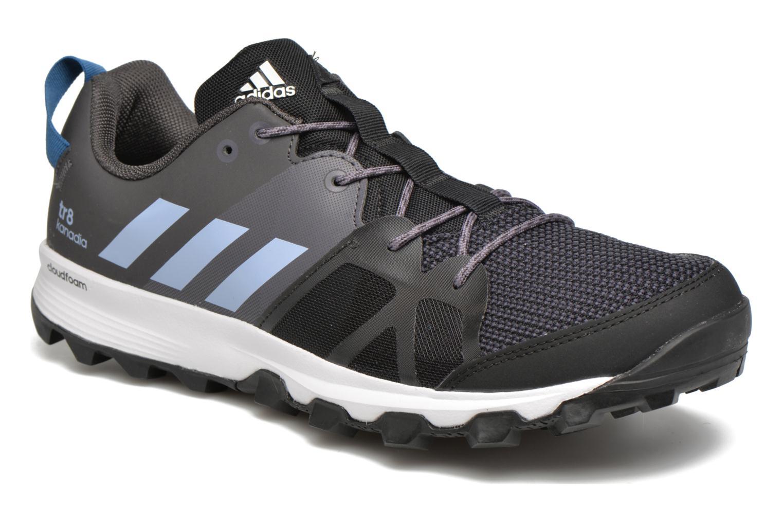 Chaussures de sport Adidas Performance kanadia 8 tr m Noir vue détail/paire
