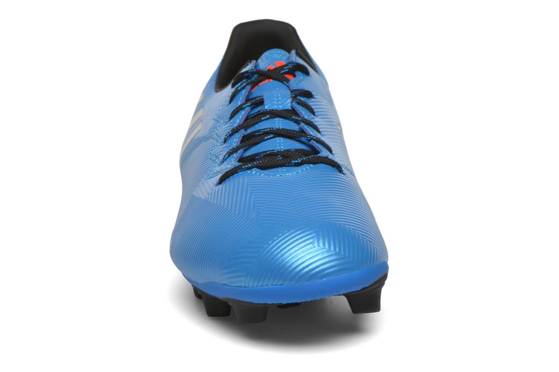 Chaussures de sport Adidas Performance MESSI 16.4 FxG Bleu vue portées chaussures