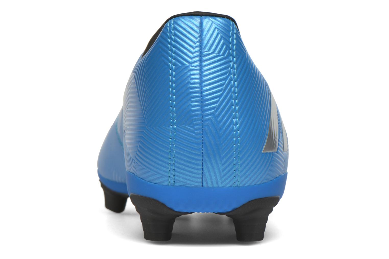 Chaussures de sport Adidas Performance MESSI 16.4 FxG Bleu vue droite