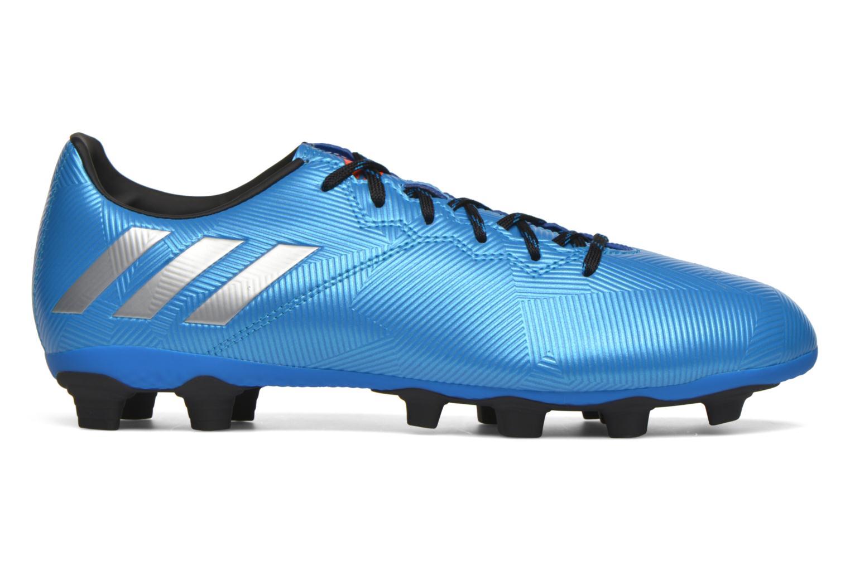 Chaussures de sport Adidas Performance MESSI 16.4 FxG Bleu vue derrière
