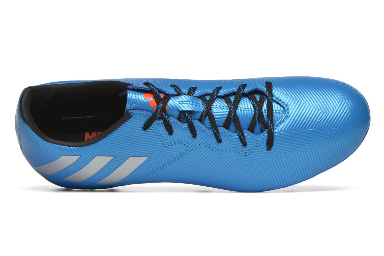 Chaussures de sport Adidas Performance MESSI 16.4 FxG Bleu vue gauche