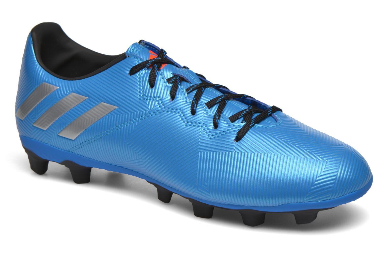 Chaussures de sport Adidas Performance MESSI 16.4 FxG Bleu vue détail/paire