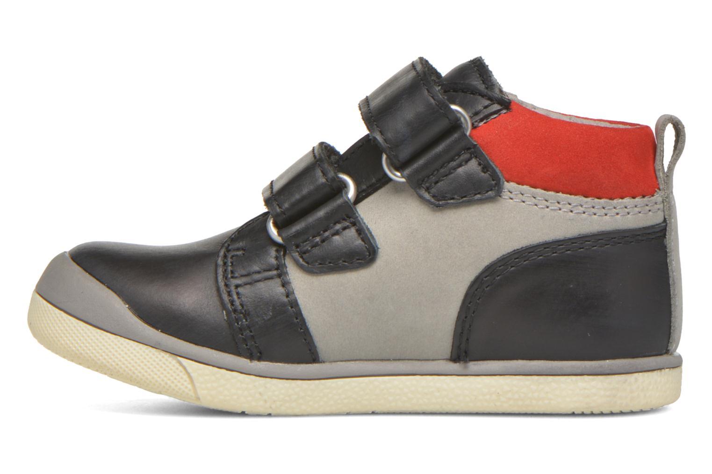 Gowaou Noir gris rouge