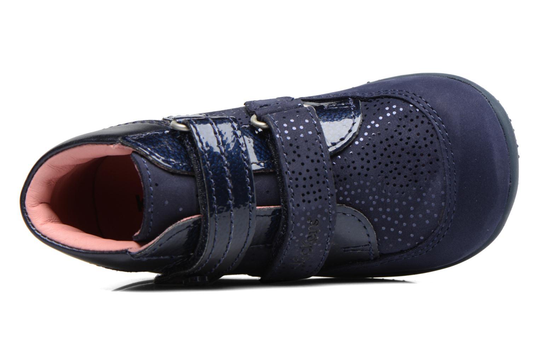 Bottines et boots Kickers Biliana Bleu vue gauche