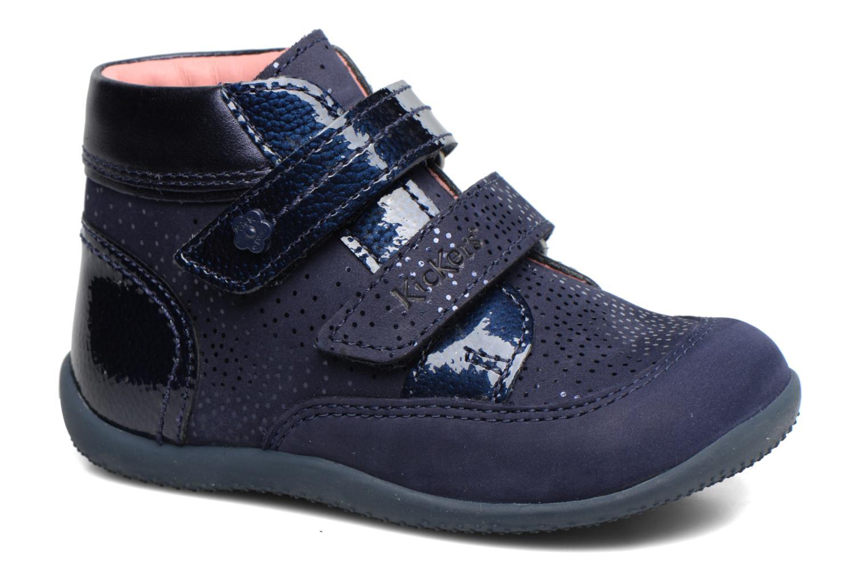Bottines et boots Kickers Biliana Bleu vue détail/paire