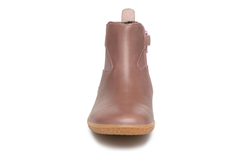 Bottines et boots Kickers Vermillon Rose vue portées chaussures
