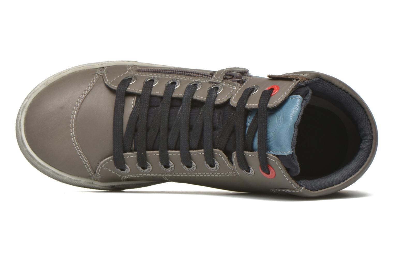 Custom Gris Fonce Bleu